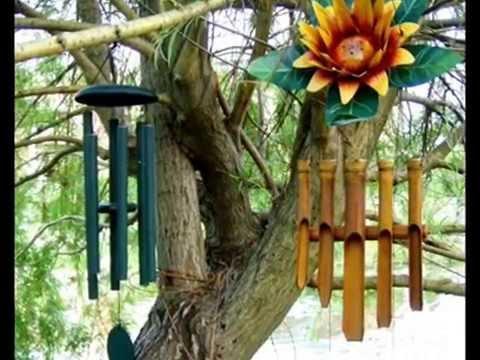 Садовая музыка ветра - украшение для сада