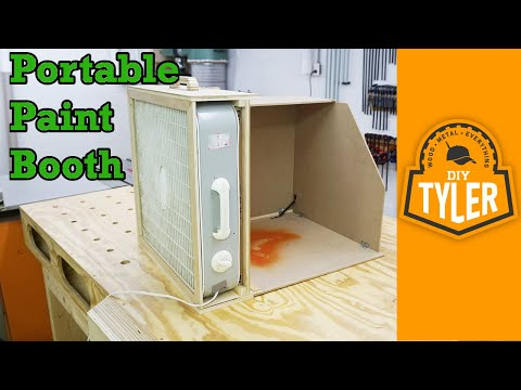 Building A Table Top Spray Booth How To Save Money And