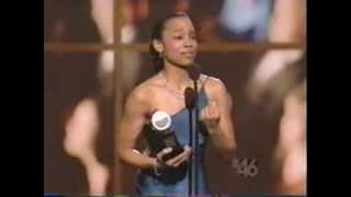 Anika Noni Rose wins 2004 Tony Award for Best Featured Actress in a Musical