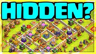 HIDDEN Town Hall Trick (Fail) - Clash of Clans Quest to 7000 Trophies #3
