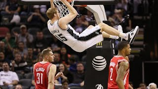 Matt Bonner Spurs Offense Highlights Part1