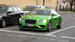 Bentley Continental GT Speed lovely sounds HD