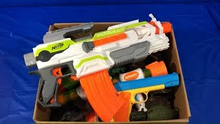Toy Guns Box of Toys for Kids Nerf Blasters Toy Blasters Military