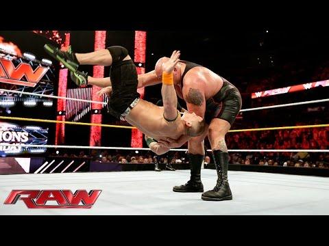 John Cena & Sting vs. Big Show & Seth Rollins: Raw, Sept. 14, 2015
