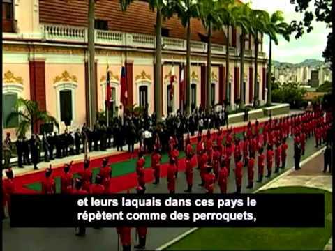 09/01/2012 - Hugo Chavez reçoit Mahmoud Ahmadinejad - Déclaration d'Amour aux Peuples du Monde