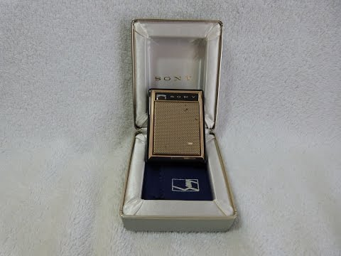 1960 Sony model TR-730 transistor radio (made in Japan)