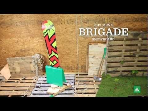 K2 Brigade Snowboard 2013 Product Video