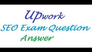 upwork seo answer