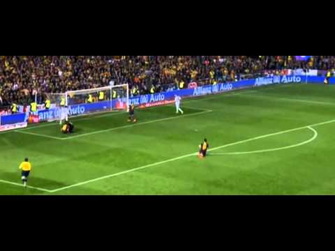 GOAL Gareth Bale Barcelona vs Real Madrid 1-2 Final Copa del Rey 2014   16/04/2014