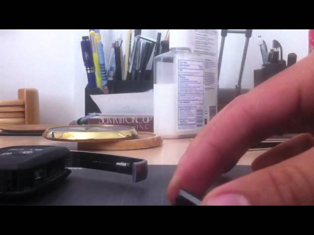 Range Rover Key Battery Replacement - YouTube