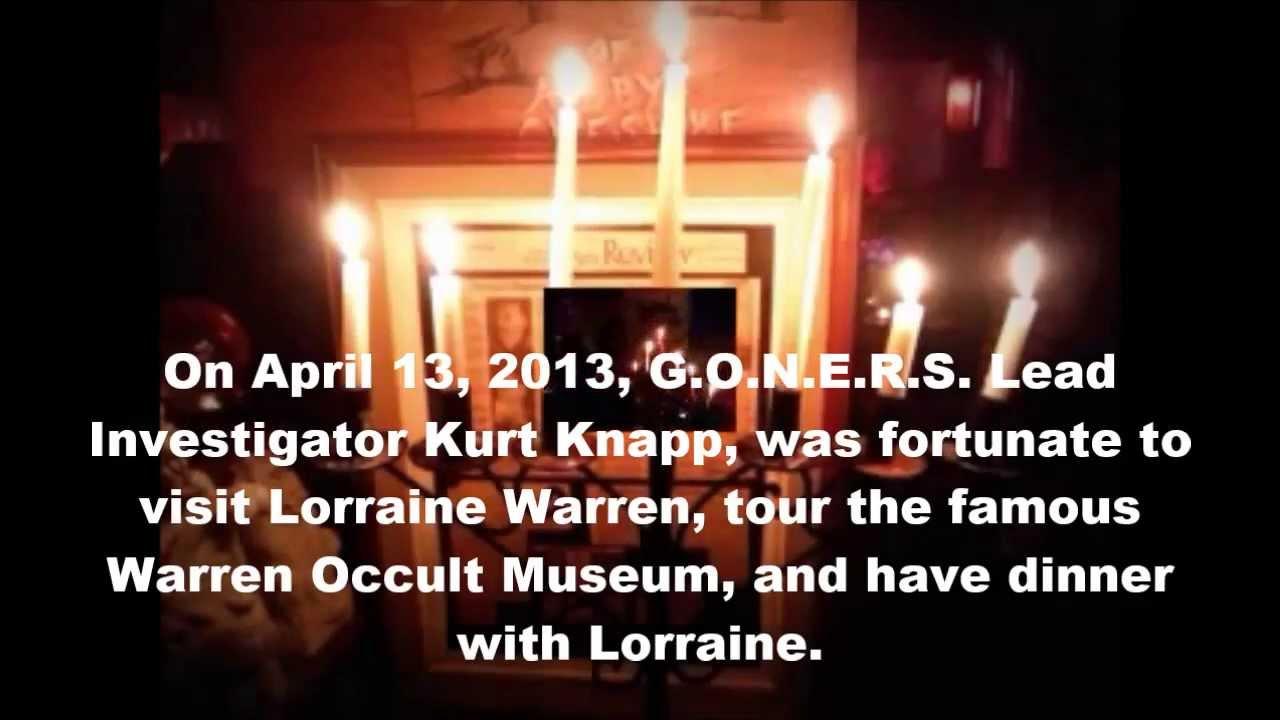 Warren S Occult Museum Video Tour