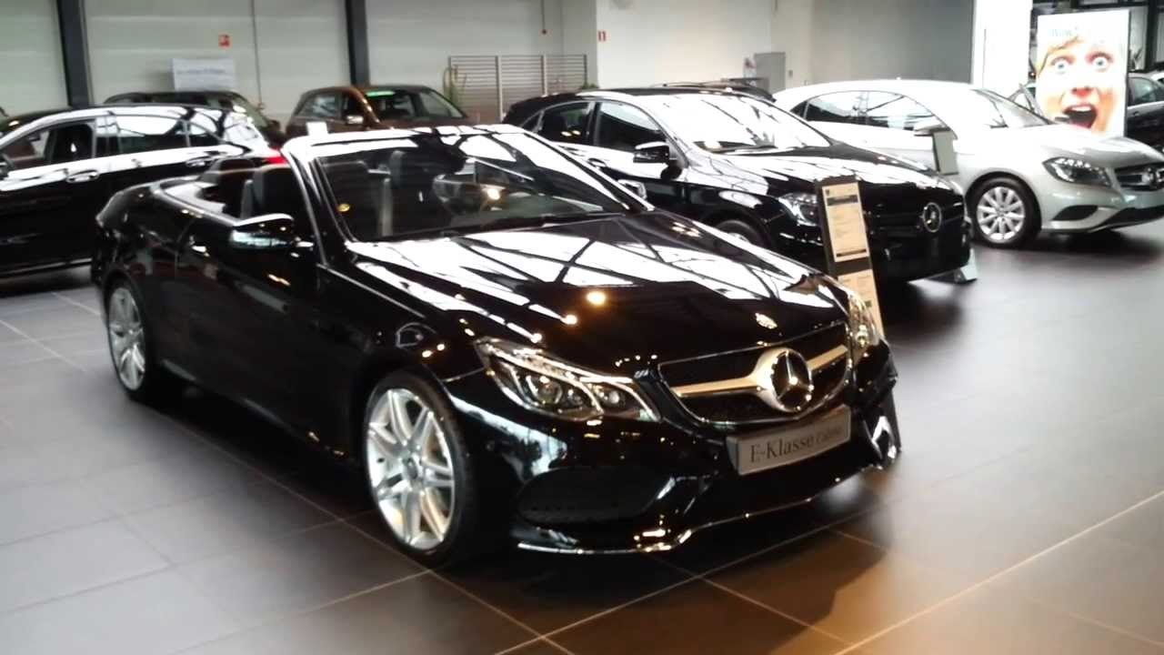Mercedes-Benz E200 Cabriolet 2015 In Depth Review Interior ...
