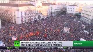 Royal Row: (Spaniards) rally for referendum on heels of King abdication  6/3/14