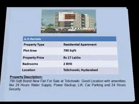 Properties in Tolichowki Hyderabad.