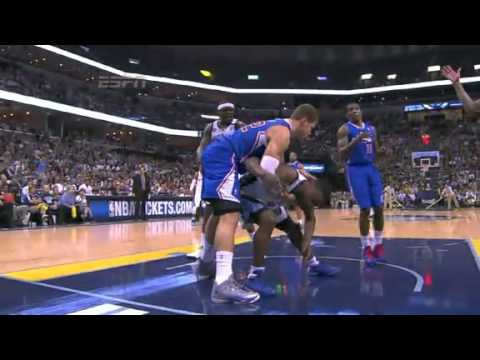 NBA CIRCLE - LA Clippers Vs Memphis Grizzlies Game 6 Highlights 3 May 2013 NBA Playoffs