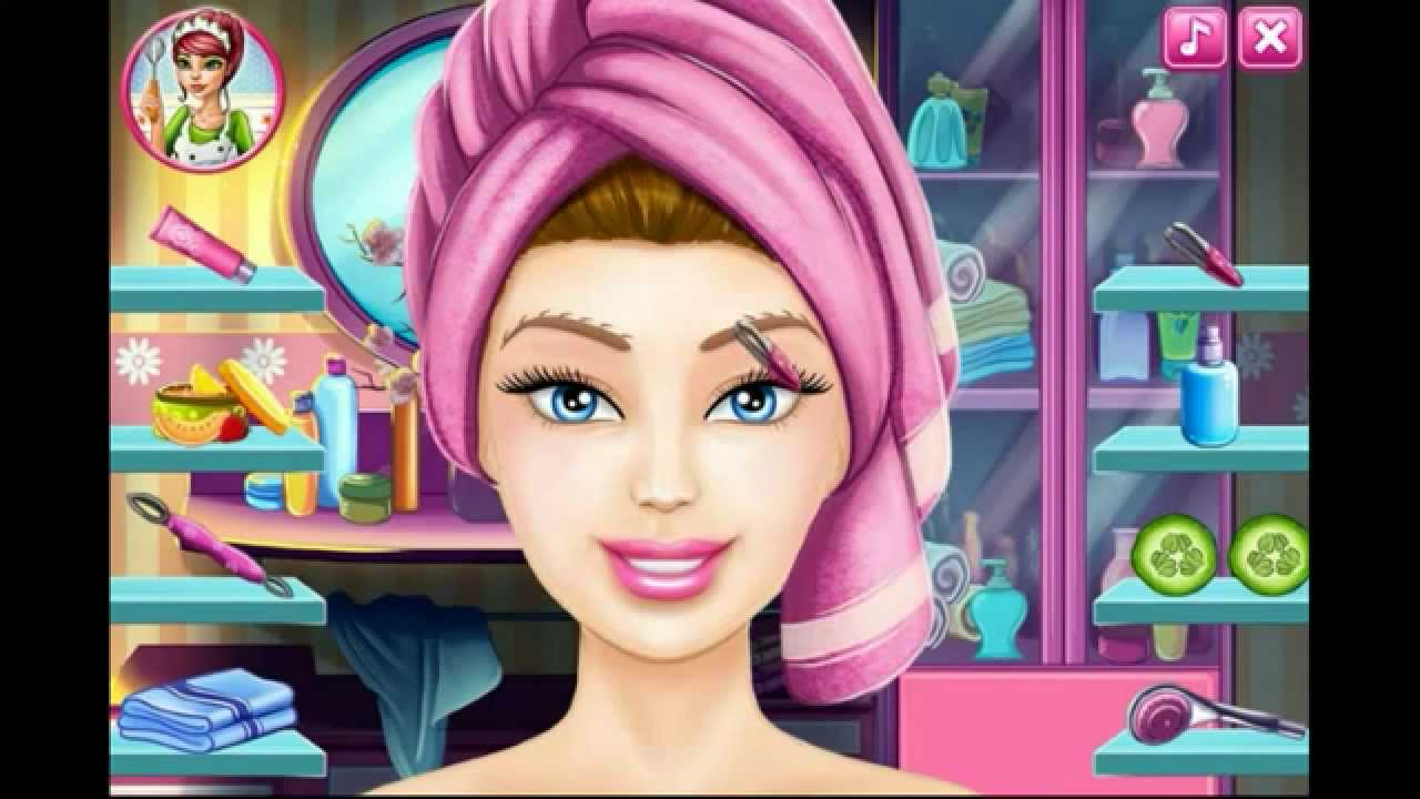 Barbie makeup game