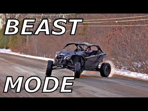 Maverick X3 Evo 3R tune 200hp test drive! ITS A MONSTER!