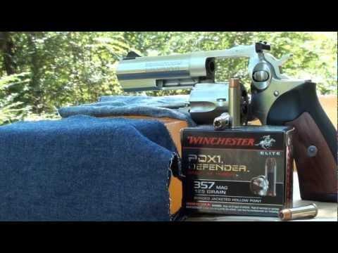 357 Remington magnum saber penetration golden