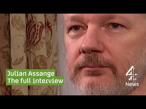Julian Assange, Wikileaks founder, on ISIS and extradition