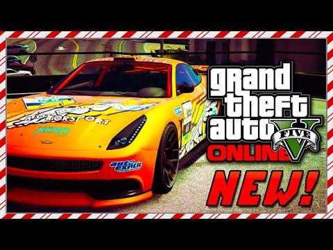 "GTA 5 NEW ""Racecar Dewbauchee Masacro"" Festive Surprise Christmas DLC! GTA 5 Christmas DLC! (GTA V)"