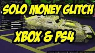 GTA 5 SOLO MONEY GLITCH WORKING NOW/BEST SOLO MONEY GLITCH WORKING NOW XBOX AND PS4
