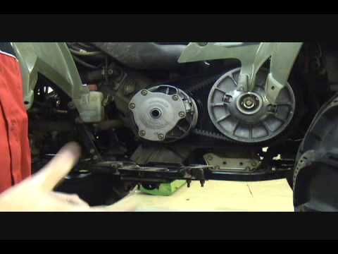 Polaris Sportsman EPI Clutch Kit Install - Part 1 of 4