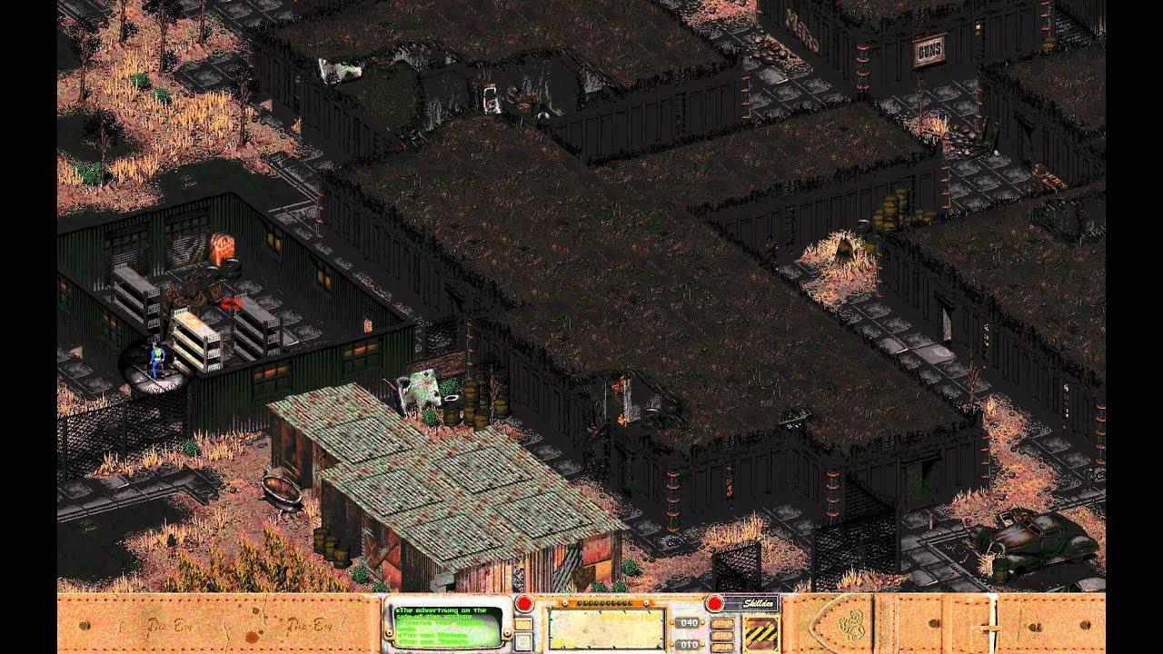 Fallout 1 Speed Run - 10 minutes (exploits to a Следующее.