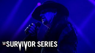 The Undertaker says Final Farewell to the WWE Universe: Survivor Series 2020 (WWE Network Exclusive)