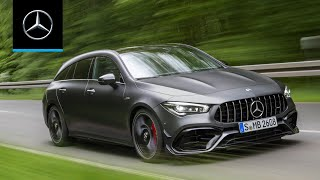 Mercedes-AMG CLA 45 S 4MATIC+ Shooting Brake (2020): World Premiere | Trailer
