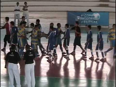 1ª Copa Globo Nordeste de Futsal   CAMUTANGA 5 X 2 CONDADO 2005 FairPlay
