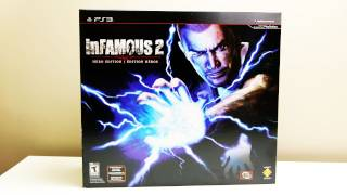 Infamous 2 Hero Edition Unboxing (HD)