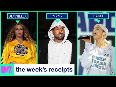 Beyoncé Slays Coachella & Kim Kardashian Has Dinner w/ Obama | The Week's Receipts | MTV