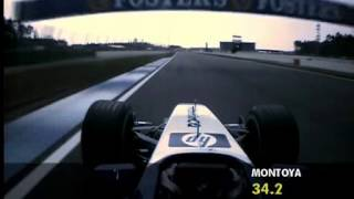 Juan Pablo Montoya F1 2003 Pole Lap Germany Gp