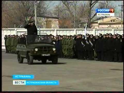 В Астрахани прошла первая репетиция юбилейного Парада Победы