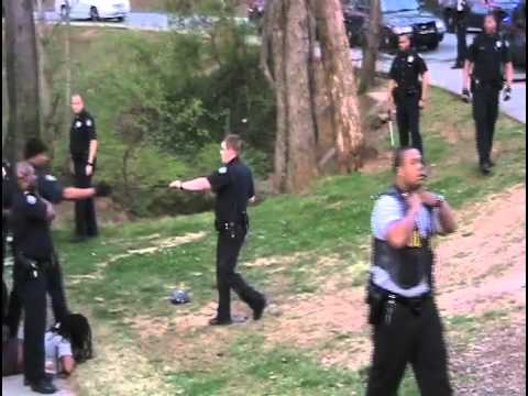 Cops Beat Youth, Spray, Beat and Arrest Bystanders