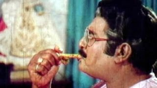 Comedy Kings - Kaikala Satyanarayana Funny Eating Chicken Bone - Sudhakar