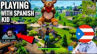 Funniest Gameplay Ever LosPollosTv Plays With Random Spanish Kid 😭 (Try Not To Laugh)