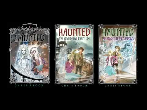Haunted by Chris Eboch book trailer