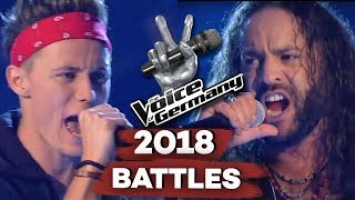 Soundgarden - Spoonman (Matthias Nebel vs. Taylor Shore) | The Voice of Germany | Battle