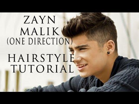 Zayn Malik from One Direction Hairstyle Tutorial | Nov 2012 | Jesse Minty
