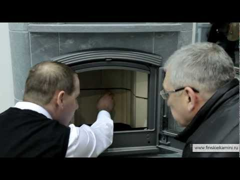 Видеосъемка на выставке | Финские печи-камины