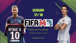 FIFA 14 ModdingWay Mod 17.5.0(AIO) Season 17/18 7.25 MB
