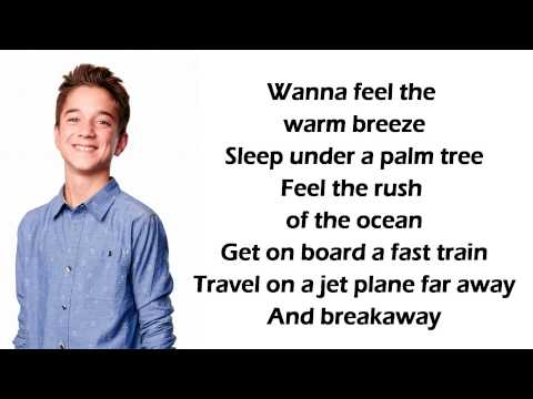 Daniel Seavey - Breakaway Lyrics (American Idol Top 9 Recordings)