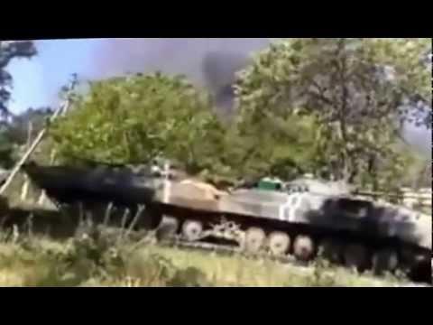 Ополченцы накрыли огнем базу техники ВСУ ДНР  Новости Украины