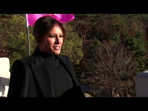 Melania Trump discusses her first year in the White House