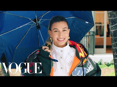 73 Questions With Hailey Bieber | Vogue