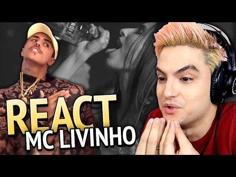 REAGINDO A MC LIVINHO - FAZER FALTA thumbnail