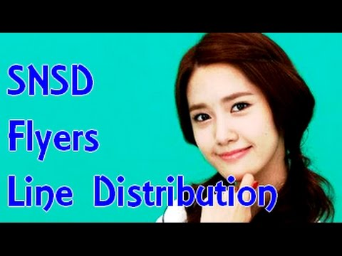 SNSD - Flyers (Line Distribution)