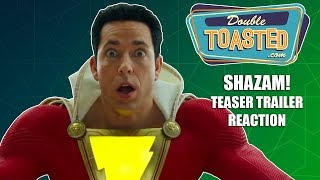 SHAZAM OFFICIAL TEASER TRAILER REACTION