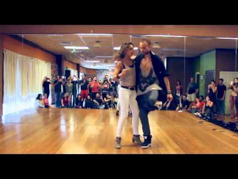 Kaem & Marine KizAsOne - USA MUSICALITY & MOVES IMPROV (HD)
